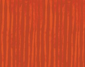 NEW Windham LINE by Marcia Derse Orange Rust Tangerine Fabric 50410-10 BTY