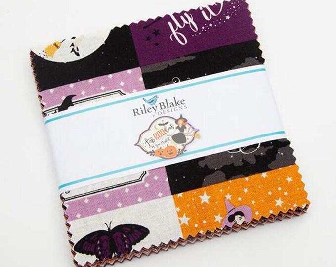 "Riley Blake Designs Fab-boo-lous 5"" Stacker 5-8170-42 Designer: Dani Mogstad 42 pieces"