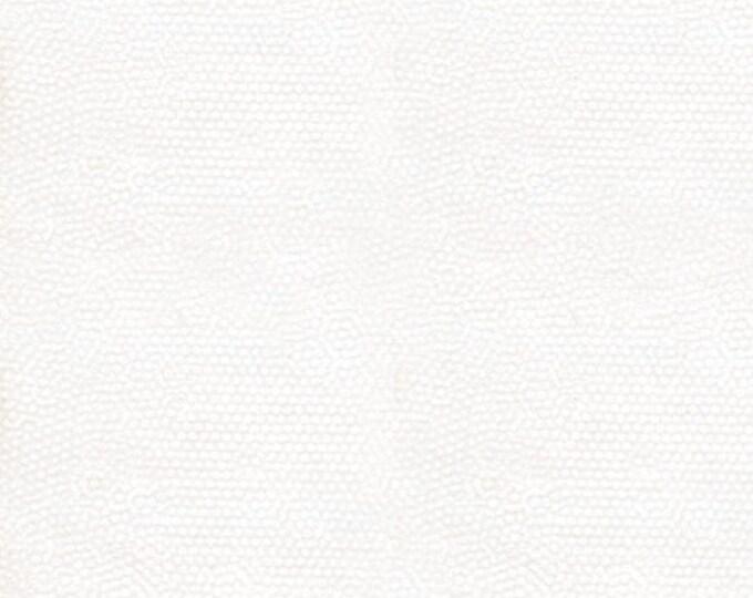 Andover Dimples Gail Kessler Basic Textured Blender Snow White 1867-WW BTY