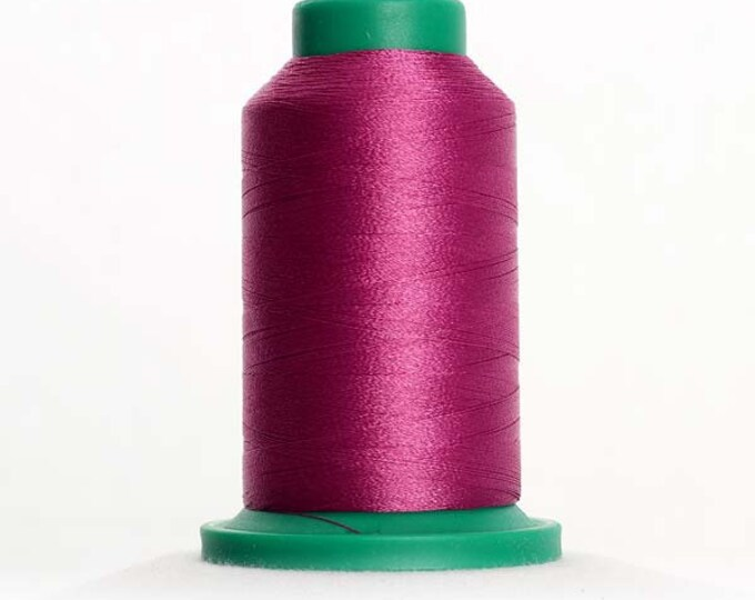 ISACORD Polyester Embroidery Thread Color 2504 Plum 1000m