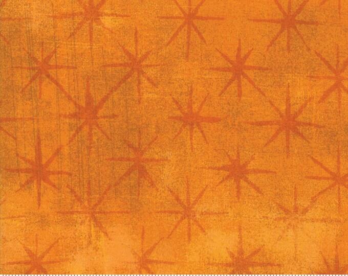 Moda Grunge Seeing Stars Yellow Gold Orange Mottled Background 30148-21 Fabric BTY