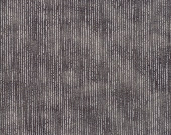 Moda Blushing Peonies Charcoal Grey Gray Squiggle Line Background Fabric BTY 48615-19