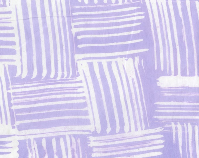 RJR Flaurie and Finch Blossom Batiks Valley Thatch Brush Purple Lavender Batik Fabric 3140-004 BTY