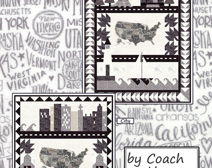 Coast to Coast - USA Coach House Designs METROPOLIS Pattern Two in One