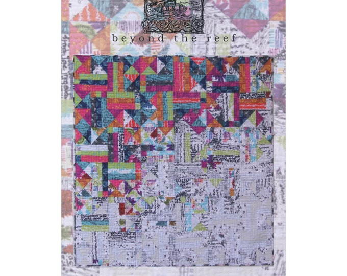 Beyond the Reef Hang Ten Layer Cake Friendly Quilt Modern Pattern