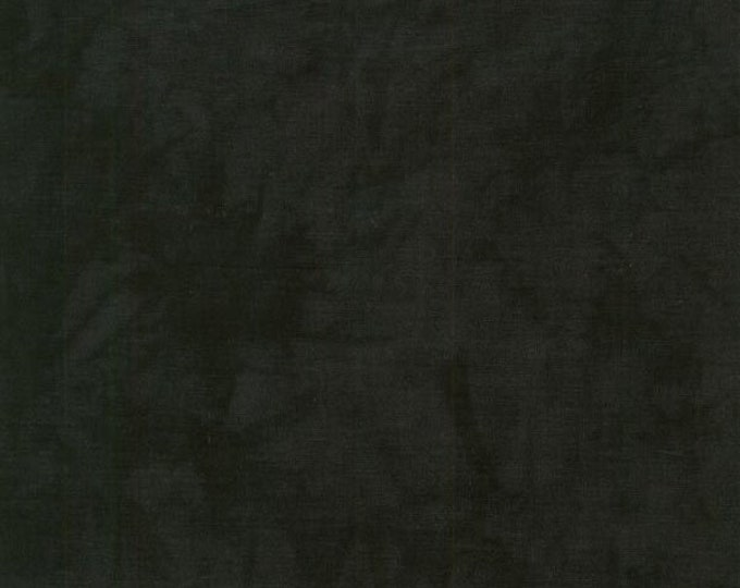 RJR Handspray Mottled Black Ink Smoke Tonal Fabric 4758-017 BTY