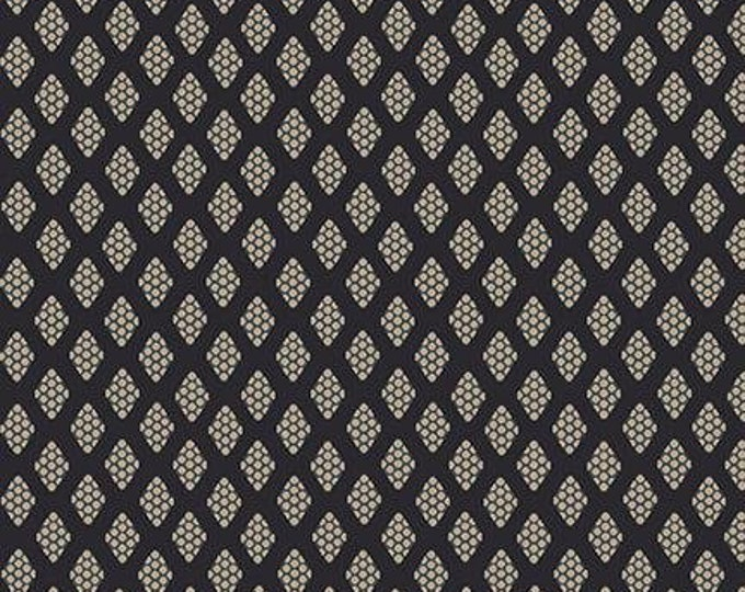 Henry Glass Blush and Blue Kim Diehil 1971 77 Honeycomb Blue Diamonds Quilt quilting Fabric Cotton BTY