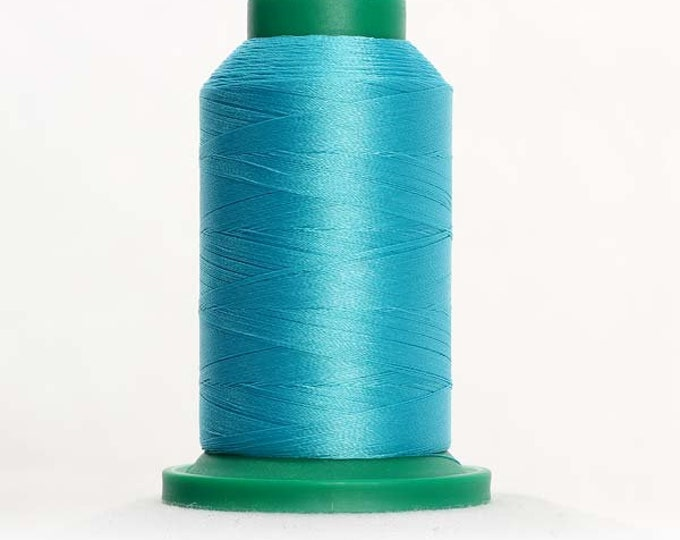 ISACORD Polyester Embroidery Thread Color 4220 Island Green 1000m