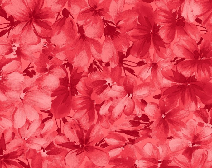 Maywood Fabric MAS9181-R2 Chloe Tonal Geraniums BTY