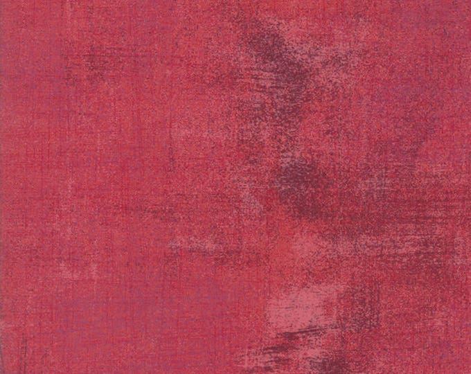 Moda Grunge Basics RAPTURE ROSE Red Pink 30150-331 Fabric BTY