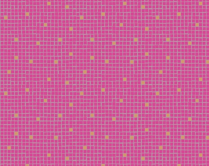 Lewis & Irene A269 2 - Pink little tiles Lindos Met  BTY