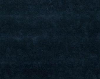 Hoffman 1895 Watercolors Solid Batik Fabric 1895-4 Black Ink BTY