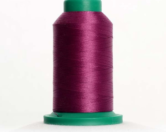 ISACORD Polyester Embroidery Thread Color 2600 Dusty Grape 1000m