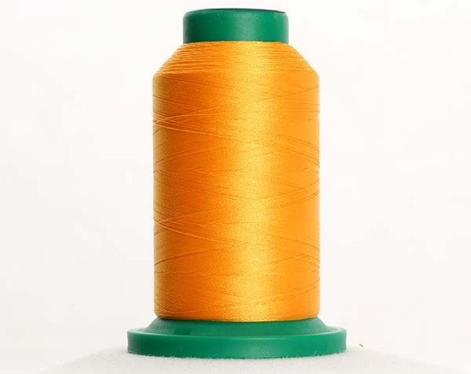 ISACORD Polyester Embroidery Thread Color 0702 Papaya 1000m