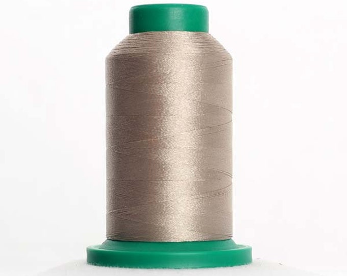 ISACORD Polyester Embroidery Thread Color 0874 Gravel 1000m