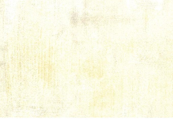 Moda Grunge Basics CREAM Off White Mottled Background Fabric 30150-160 BTY