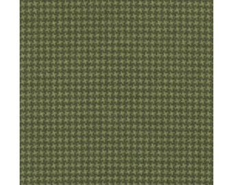 Maywood WOOLIES Soft Green 18122-G2 Weave Plaid Flannel Fabric BTHY