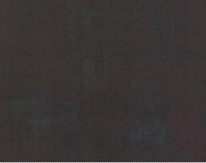 Moda Grunge Basics EXPRESSO Black Brown Mottled Background Fabric 30150-310 BTY