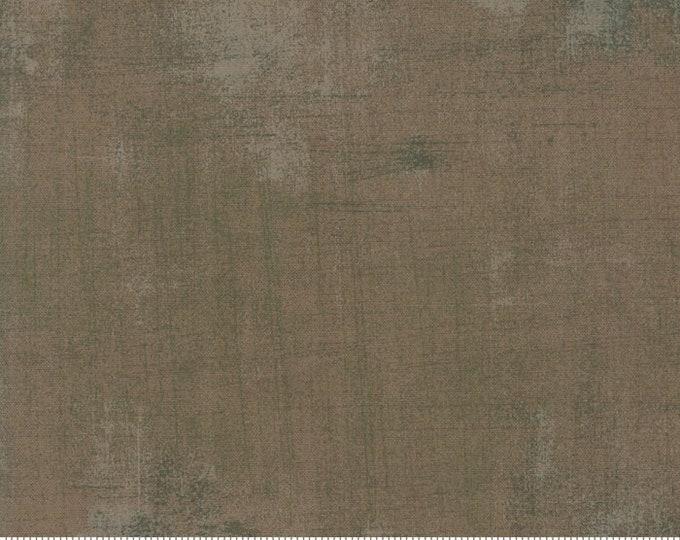 Moda Grunge Basics New BRISTOL Brown Gray Grey Mottled Background Fabric 30150-444 BTY