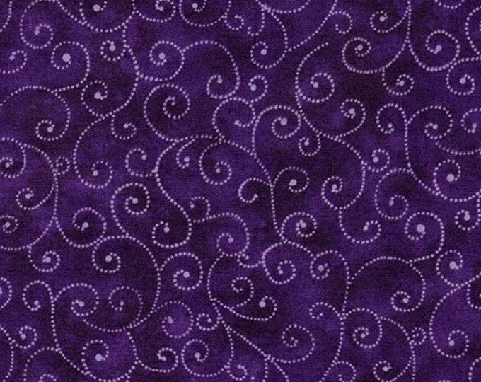 Moda Marble Marble Swirl Purple Mottled Background Fabric 9908-22 BTY