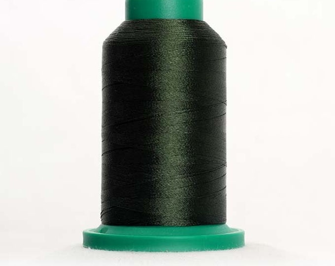 ISACORD Polyester Embroidery Thread Color 5944 Backyard Green 1000m