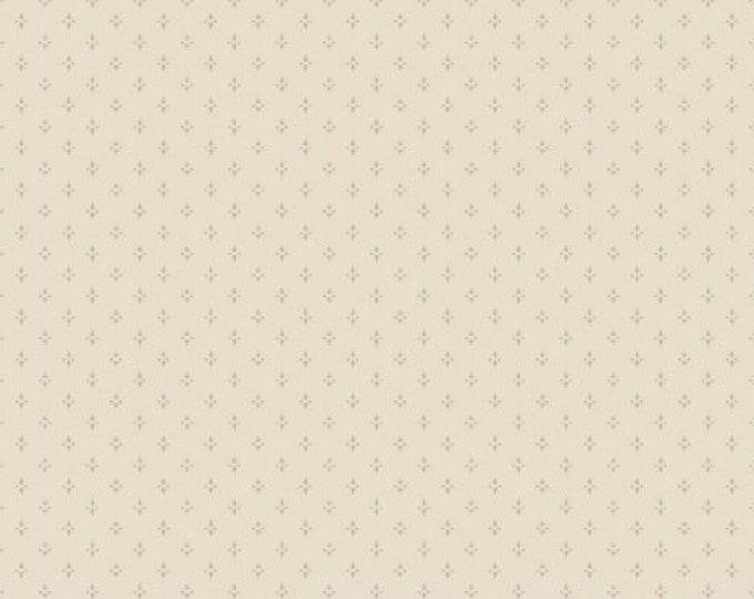 Windham Tried and True Cream on Cream Tonal Background Shirting Civil War Fabric BTY 43198-10