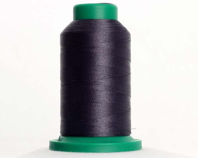 ISACORD Polyester Embroidery Thread Color 0132 Dark Pewter 1000m