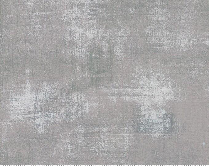 Moda Basic Grey Grunge SILVER Grey Gray  30150-418 Fabric BTY
