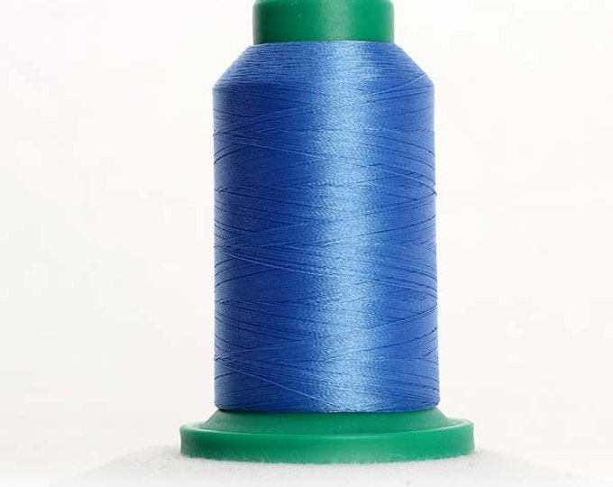 ISACORD Polyester Embroidery Thread Color 3711 Dolphin Blue 1000m