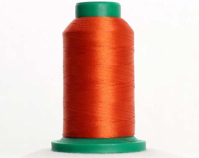 ISACORD Polyester Embroidery Thread 1321 Dark Orange 1000m
