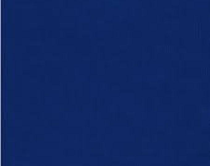 Robert Kaufman Kona Cotton Solid  OCEAN 25 Dark Royal Blue Fabric BTY