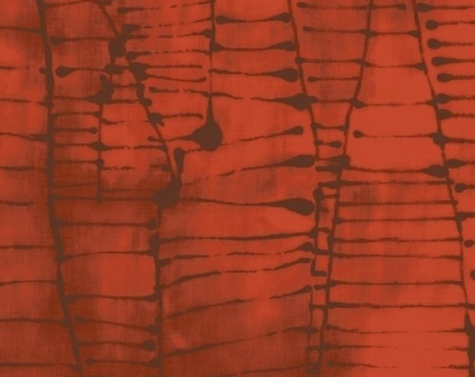 NEW Windham Art History 101 by Marcia Derse Wald Klee Maple Brown Red Orange Tonal Fabric 50419-22 BTY