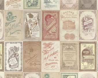 Tim Holtz - Foundations - Photo Card Fabric PWTH013 BTY