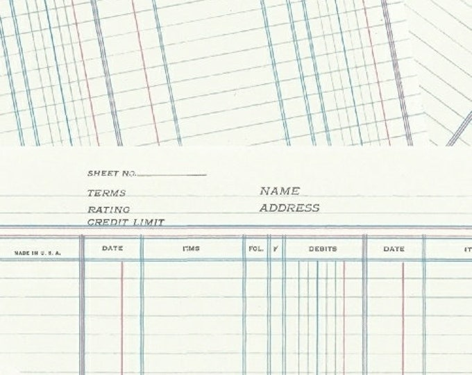 Windham Heather Givans Jot White Marshmallow Ledger Paper White Blue 50456-4 Fabric BTY