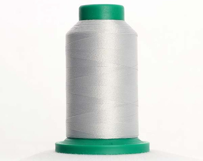 ISACORD Polyester Embroidery Thread Color 0182 Saturn Grey1000m
