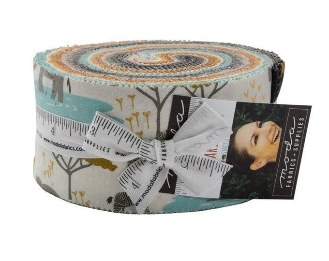 Moda Safari Life - Jelly Roll - Stacy Iset Hsu - Moda Fabrics  Jelly Roll 2.5 Fabric Strips 20640jr