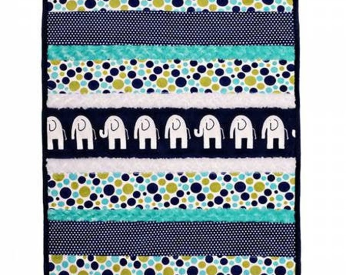 "Bambino Cuddle Kit from Shannon Fabrics 27"" x 37"""