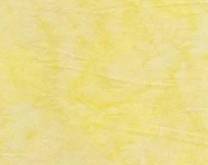 Batik Textiles watercolor yellow with white tones backgroud  Cotton 7511B BTY