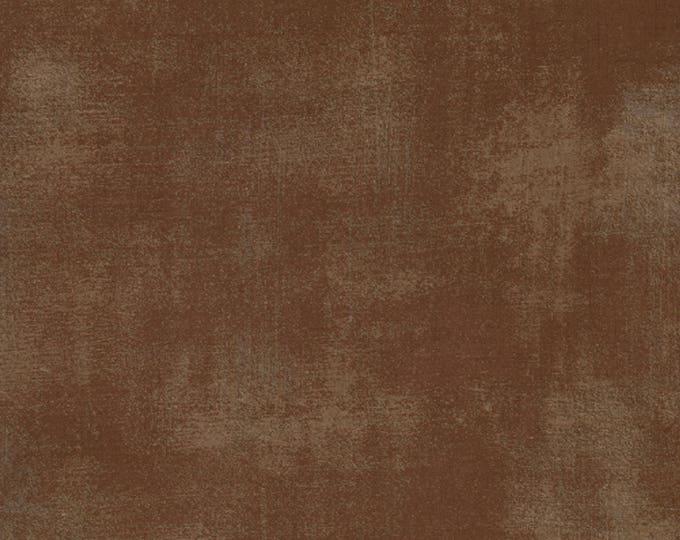 Moda Grunge Basics BROWN Chocolate Mottled Background Fabric 30150-54 BTY