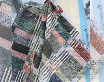 Beyond the Reef Stringers Fat Quarter Friendly Quilt Modern Pattern