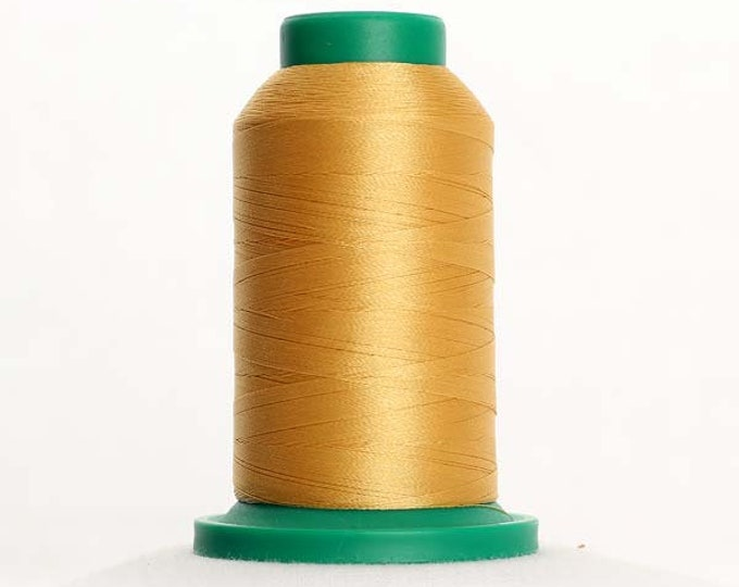 ISACORD Polyester Embroidery Thread Color 0741 Wheat 1000m