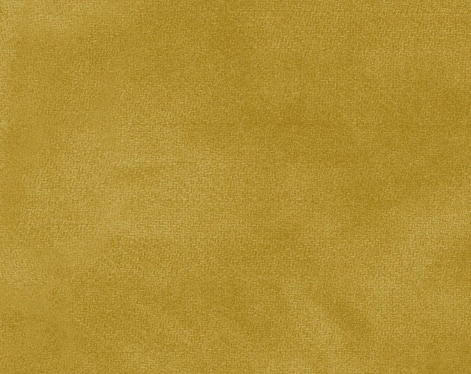 Maywood WOOLIES Color Wash Flannel Fabric Crushed Curry Gold 9200-S2 BTHY