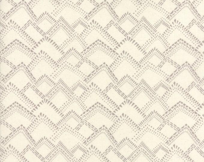 Moda Yucatan Limestone Sandbar Gray Grey Cream Annie Brady Fabric 16716-21 BTY