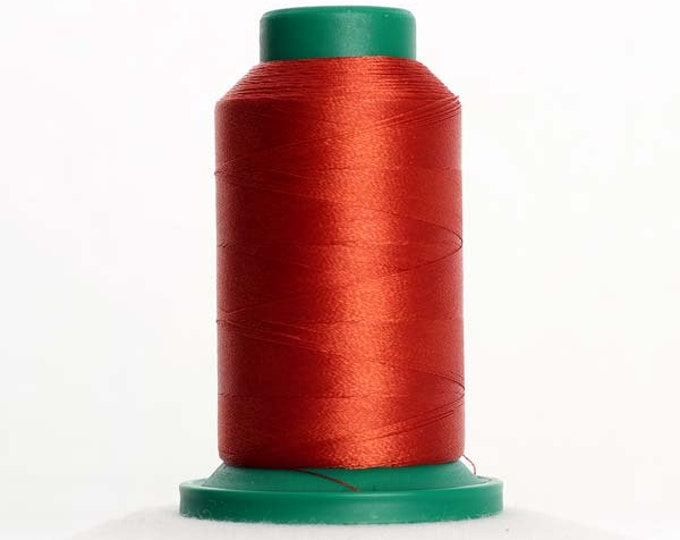 ISACORD Polyester Embroidery Thread 1312 Burnt Orange 1000m