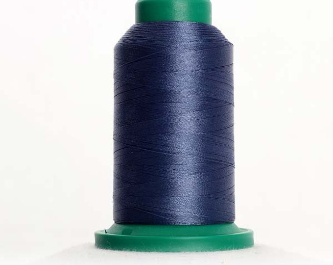 ISACORD Polyester Embroidery Thread Color 3654 Blue Shadow 1000m