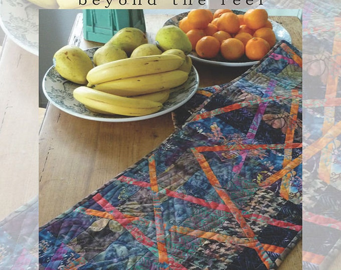 Beyond the Reef Bali Bamboo Fat Quarter Friendly Quilt Modern Pattern
