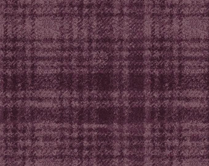 Maywood Woolies Purple on Purple Large Plaid FLANNEL Fabric 18501-V BTY