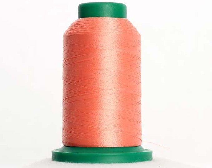 ISACORD Polyester Embroidery Thread  1532 Coral 1000m