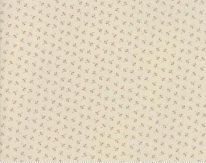 Moda Jos Shirtings by Jo Morton Cream Beige Tan Floral Civil War Fabric 38042-13 BTY