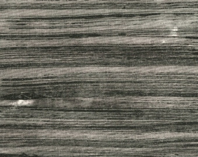 NEW Windham The Opposite by Marcia Derse Black Gray Grey Line Brushed Brush Stroke Modern Fabric 51065-2 BTY